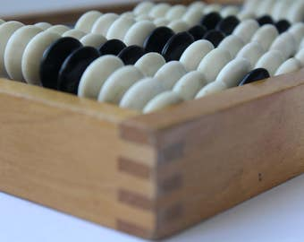 Soviet Abacus, Abacus USSR, Vintage abacus, Soviet wooden abacus. plastic abacus