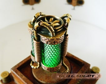 Steampunk USB gift handmade vintage brass  flash drive GENERATION 32GB 3.0