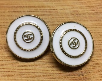 Chanel Buttons 20 MM