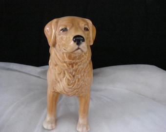 Beautiful ceramic Golden Retriever