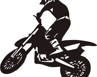 dirt bike svg