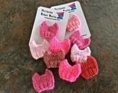 Pussyhat Lapel Pin— P_ssyhat Lapel Pin— Knit Kitty-Ears Hat Pin — Protest Pussyhat — Pink Pussyhat Pin — Women's March Pussyhat Pin