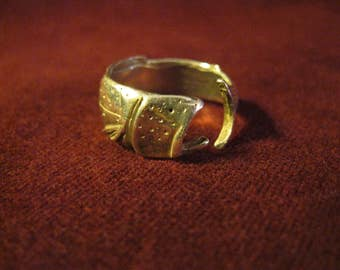 Sterling Fish Ring, Sterling Ring, Fish Ring, Native American Ring, Southwest Jewelry