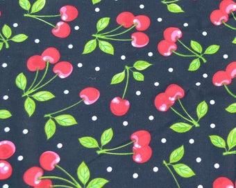 Cherry, Cherries, Fruit, Valance, Window Curtain, Window Valance, Window Treatment, New, Kitchen