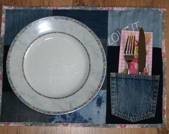 Placemat, placemat, set of 2, Twin Pack