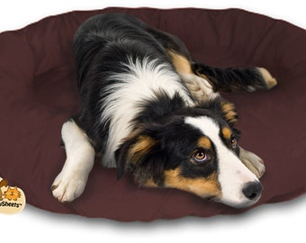 PawSheets - Dog bed covers that are fitted sheets for dog beds. Easy on and off. Dogs deserve clean beds. No more stinky dog bed odor!