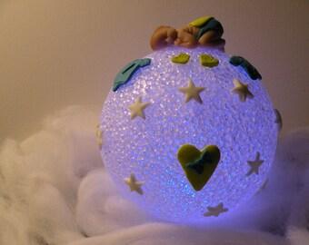 ball night light baby heart of cloud night light ball
