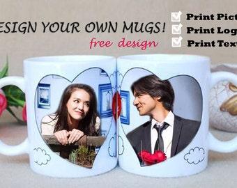 Custom Coffee Mug - Personalized Coffee Mug - Custom Photo Coffee Mug - Custom Text Coffee Mug - Photo Mug - Custom Mug - Personalized Gift