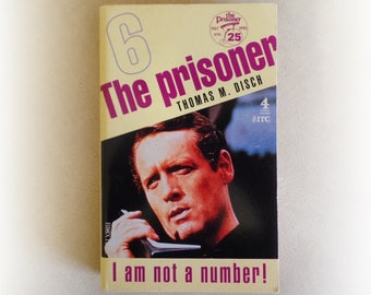Thomas M Disch - The Prisoner - Cult TV science fiction vintage paperback book - 1992