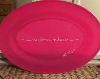 Personalized Platter