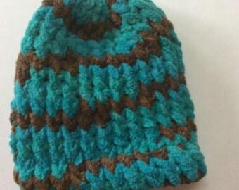 Newborn Loom Knit Hat