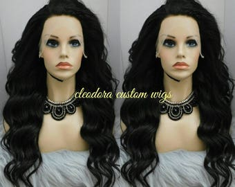 Wig Lauren/Get a Recreation of this Wig made for one of our client/Raw Cambodian Virgin Human Hair Unit/Made to order Wig