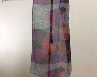 Picasso thin souvenir scarf