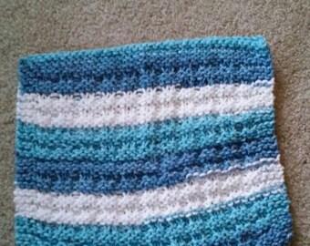 Waffle weave hand knit Cotton knit dishcloth