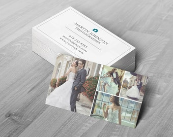 Business Card Template - Photoshop Templates for Photographers - B01