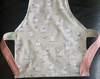 Woodland Rabbit reversible apron