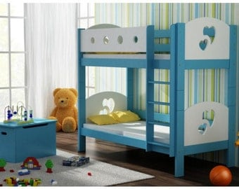 MIA 180 x 80 cm incl. mattresses bunk bed