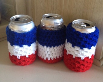 Can or Bottle Cozies Set of Three