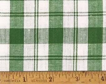 "Granny Green 5 Homespun Cotton Fabric (Full Yard 36"" x 44"")"