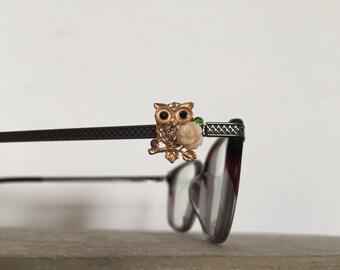 Most Darling Owl Eyeglass Charm