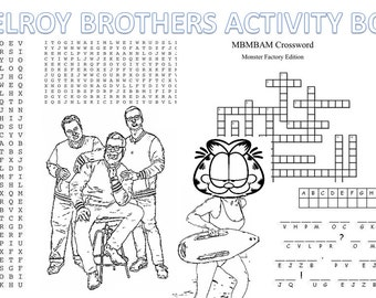 McElroy Brothers Activity Book