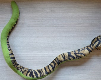 """Snake """"Spencer"""" from soft faux fur fun guaranteed"""