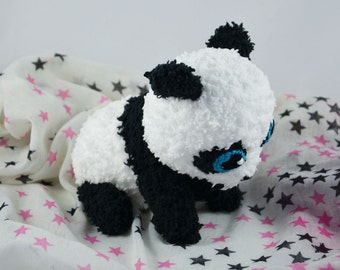 super cute crochet Baby Panda bear