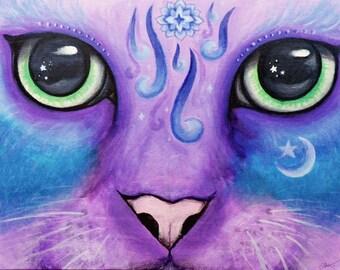 Zen Spiritual Cat