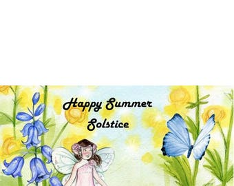 Litha/Summer Solstice greeting cards
