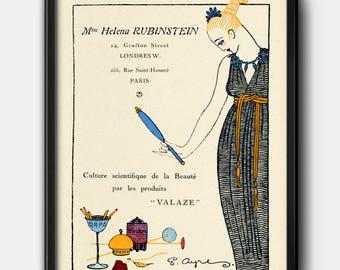 Helena Rubinstein ad · 1920s · Instant Download · Beauty · Cosmetics · Vintage · Printable #123