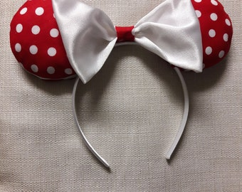 Polka Dot Minnie Ears