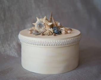 Clam box, jewelry box, box, box, storage box, storage, decoration