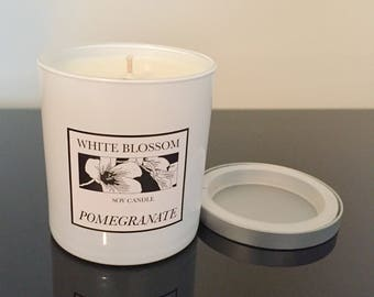 WHITE BLOSSOM Soy Candle