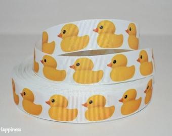 "Rubber Duck 7/8"" Grosgrain Ribbon 771"