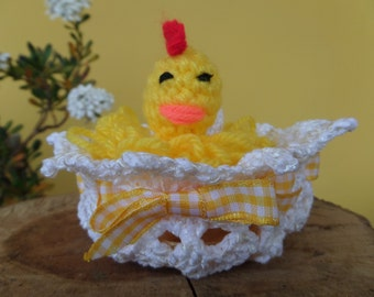 Lay an egg - Handmade Crochet  by Romana