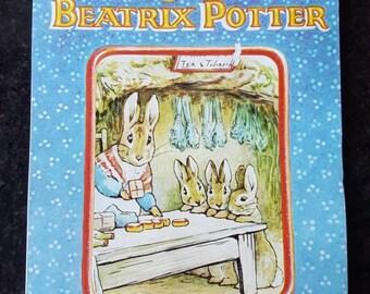 Vintage 1986 Beatrix Potter Calendar