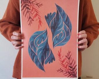 Bloom A3 Print