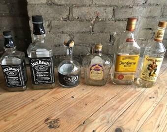 Liquor Bottles (EMPTY)
