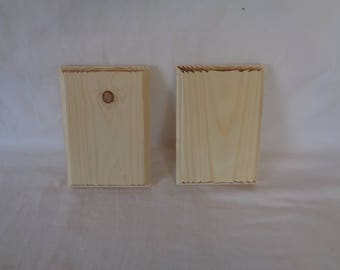 3/4 inch thick pine blanks with roman ogee edge.