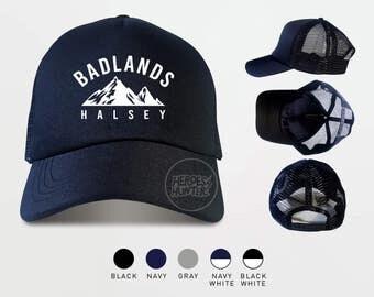 Halsey Badlands Trucker Hats  Halsey Badlands Cap