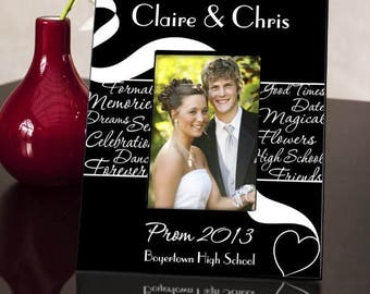 Prom Picture, Personalized Frame