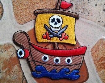 Pirate anime cartoon patch.