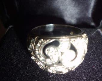 vintage sterling silver ring 925