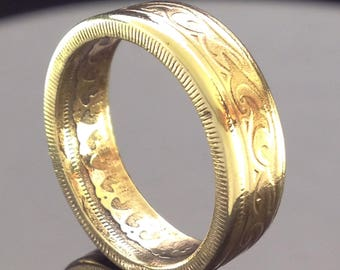 Tunisia 100 Millieme Coin Ring (1960-2013)