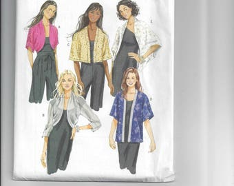 B5529, Butterick, Sewing, Pattern, Jackets, Dolman Sleeves, Drape, Kimono Sleeves, Self Lined