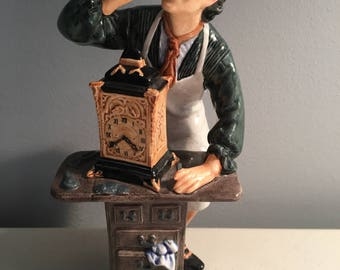 Royal Doulton THE CLOCKMAKER