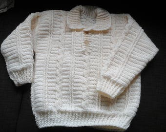 Cable sweater size 104 110