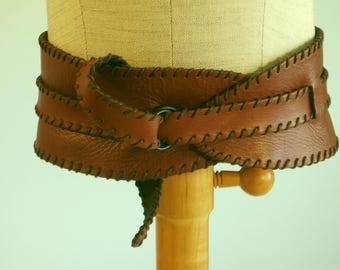 Cracchiolo Design Leather Belt High or Low Waist Corset Style Fits Most Cracchioloartgallery Handmade