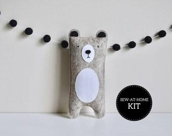 Bear Softie | Sew-at-Home Kit