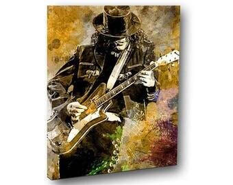 Jack White Canvas Art The Stripes Spanish Guitar